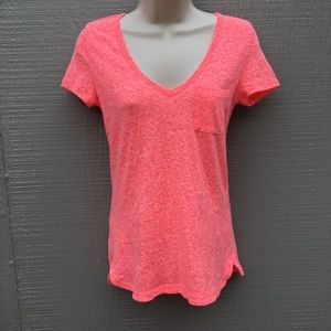 American Eagle Outfitters Orangey Pink T-Shirt